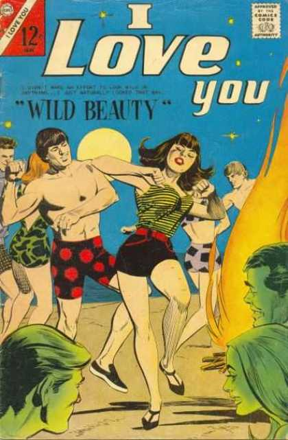I Love You 68 - Wild Beauty - Beach - Swimsuit - Dancing - Stars