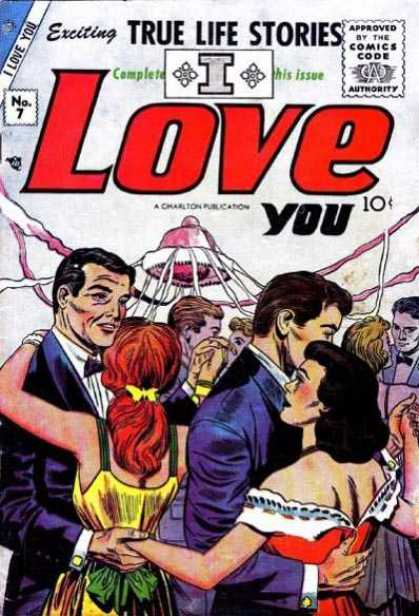 I Love You 7 - Life - Exciting - People - Bell - I - Jack Kirby