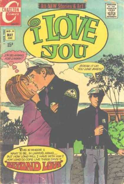 I Love You 91 - Larry - Policemen - Cops - Long - Stories