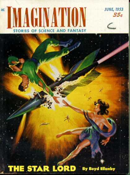 Imagination: Stories of Science and Fantasy 19