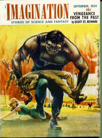 Imagination: Stories of Science and Fantasy 34