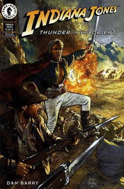 Indiana Jones: Thunder in the Orient 5 - Fire - Sword - Powerful - Weapons - Fighting