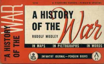Infantry Journal - History of the War In Maps In Photographs In Words - Rudolf Modley
