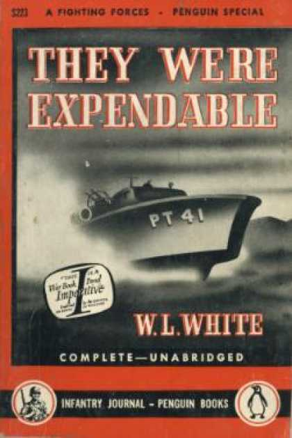 Infantry Journal - They Were Expendable - W. L. White