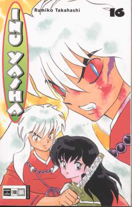 Inu Yasha 16 - Rumiko Takahashi - Volume 16 - Demon - White Hair - Sword
