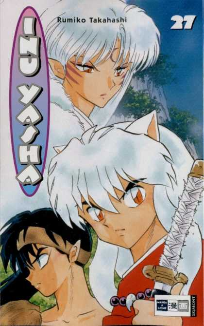 Inu Yasha 27 - Ruummiko Takahashi - Sword - Cat Woman - Hair Band - Two Girls
