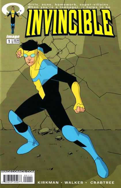 Invincible 1 - Image - Girls - Acne - Homework - Super Villains