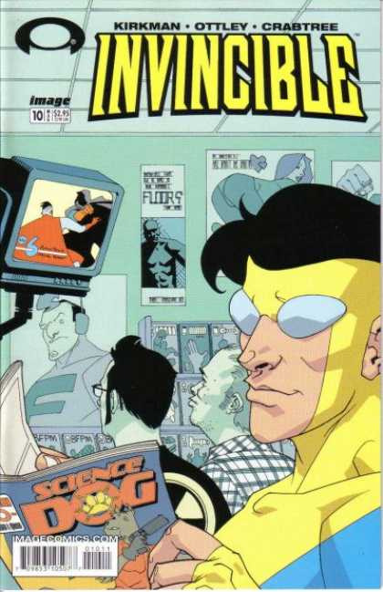 Invincible 10 - Superhero - Superman - Superpower - Invincible - Imagecomics