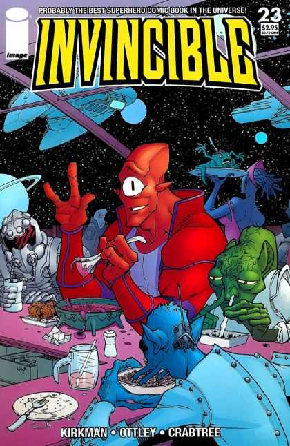 Invincible 23 - Image - Superhero - Kirkman - Ottley - Crabtree