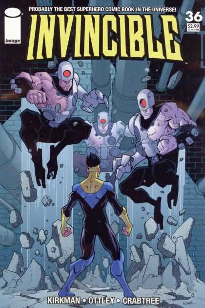 Invincible 36 - Universe - Superhero - Kirkman - Ottley - Crabtree