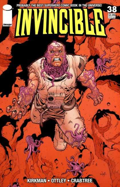 Invincible 38 - Probably The Best Superhero Comic Book In The Universe - 38 - 299 - Crabtree - Octopus