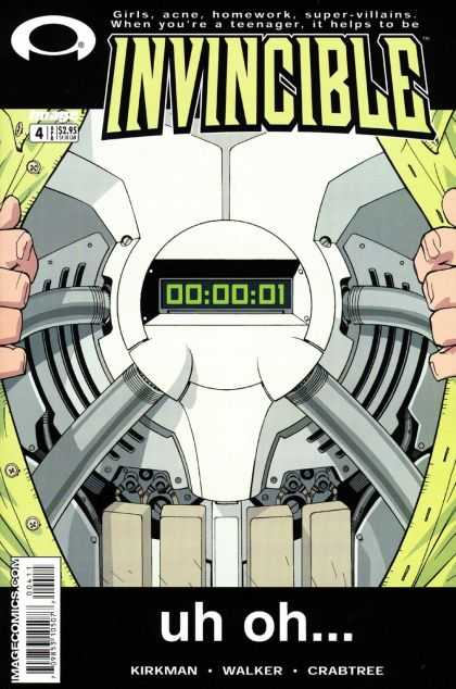 Invincible 4 - Uh Oh - Bonb - Clock - Countdown - One