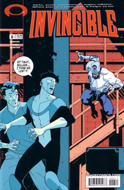 Invincible 6 - Imagecomicscom - Spectacle - Girls - Super Villains - 6