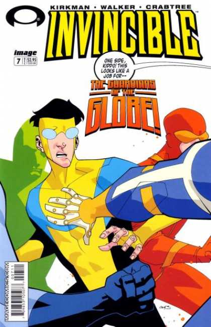 Invincible 7 - Awkward - The Unseen - Undetectable - Crimefights - Defenders