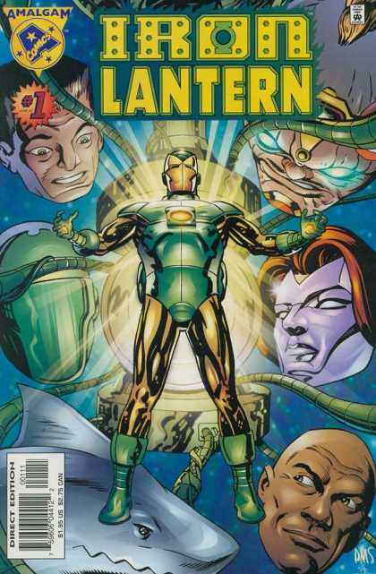 Iron Lantern 1 - Amalgram - Shark - Two Men - Cables - Odd Characters - Paul Smith