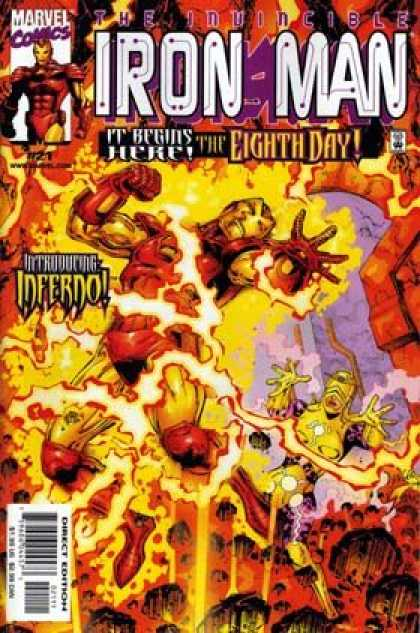 Iron Man (1998) 21 - The Inuincible - Iron Man - Ideerdo - It Begins Her The Eight Day - Fire - Dan Jurgens