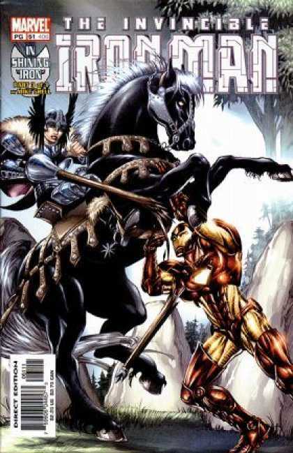 Iron Man (1998) 61 - Invincible - Horse - Wings - Helmet - Marvel - Mike Grell