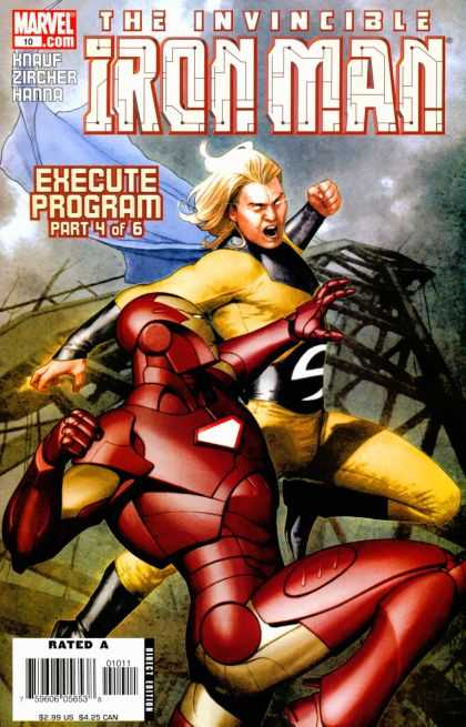 Iron Man (2005) 10 - Execute Program Part 4 Of 6 - Red Suit - Bad - Evil - Comics - Adi Granov