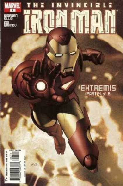 Iron Man (2005) 4 - Marvel - Invincible - Warren Ellis - Extremis - Part 4 Of 6 - Adi Granov