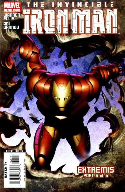 Iron Man (2005) 6 - The Invincible Ironman - Extremis - Part 6 Of 6 - Warren Ellis - Aio Granov - Adi Granov