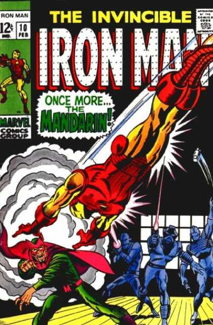 Iron Man 10 - Clouds - Lazers - Grenade - Wooden Floor - Windows - Terry Shoemaker