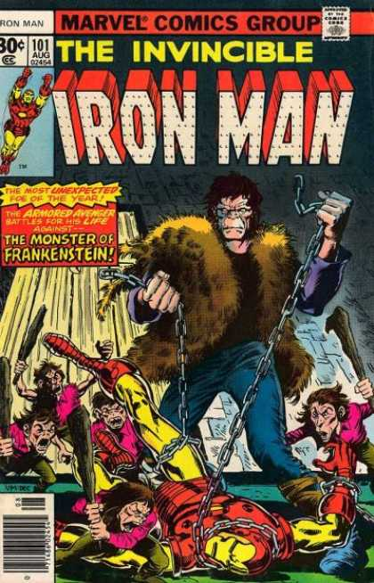 Iron Man 101 - Invincible Iron Man - Issue 101 - August Issue - 30 An Issue - The Monster Of Frankenstein - Dave Cockrum