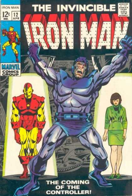 Iron Man 12 - Marvel - Comics Code - Costumes - Superhero - Woman - Terry Shoemaker