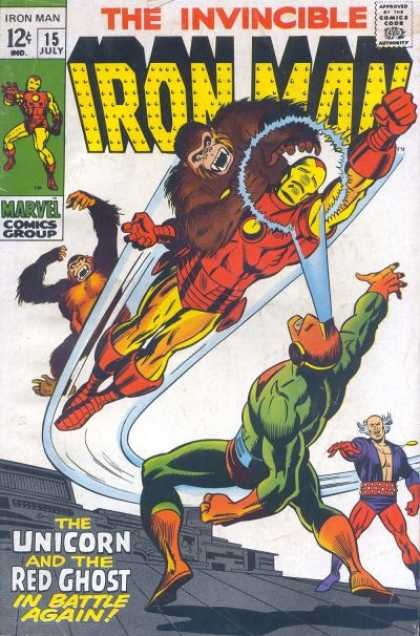 Iron Man 15 - Invincible - The Unicorn - The Red Ghost - Gorillas - Heros
