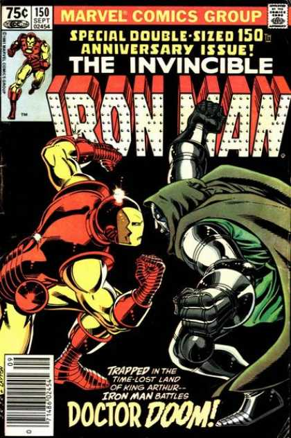 Iron Man 150 - Marvel Comics Group - Approved By The Comics Code - The Invincible - Doctor Doom - Superhero - John Romita