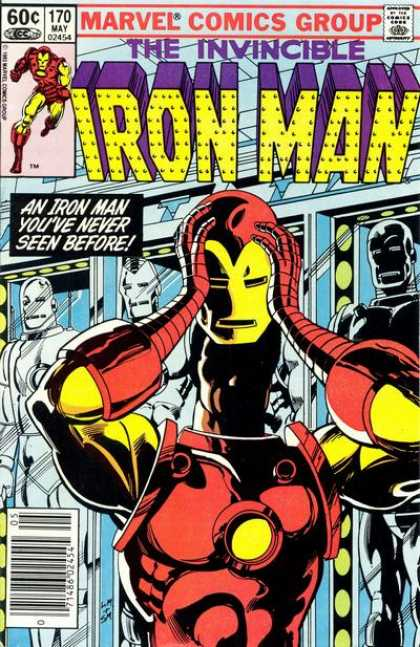 Iron Man 170 - Mechanical Suit - Robots - Marvel - Red Chest - Yellow Arms