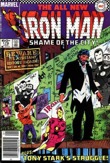 Iron Man 178 - Wall - Picture - Disgrace - Shame - Kid