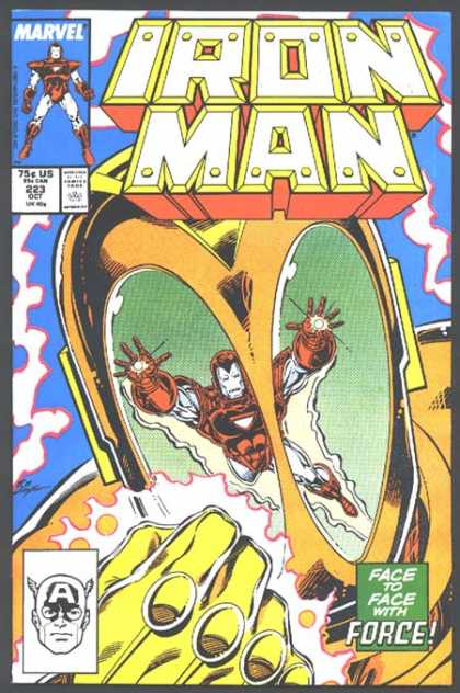 Iron Man 223 - Strong - Bulletproof - Fierceness - Going For The Gold - Wheaties Eater - Bob Layton