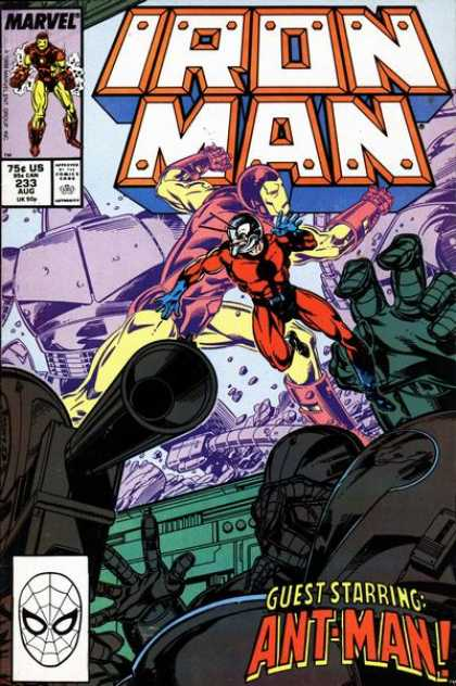 Iron Man 233 - Marvel - Ant Man - Fight - Chaos - Comics Code Authority
