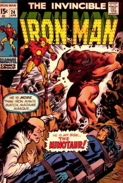 Iron Man 24 - The Minotaur - Marvel - The Invincible - Confirm - Arrived