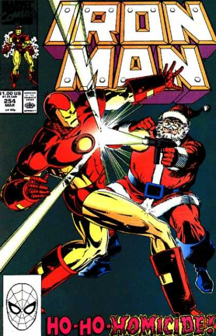 Iron Man 254 - Ironman - Superhero - Miccle - Hero - Warrior - Bob Layton