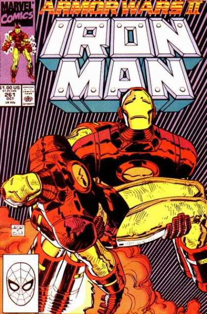 Iron Man 261 - Rescue - Jet - Robot - Fly - Escape - Bob Wiacek, John Romita