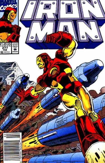 Iron Man 277 - Marvel Comics - Missels - Star - Mountain - Fire - Bob Wiacek, Paul Ryan