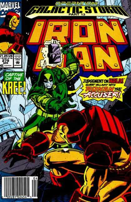 Iron Man 279 - Galactic Storm Part 13 - Judgement On Hala - Ronan The Accuser - Captive Of The Kree - Guest Villain - Paul Ryan