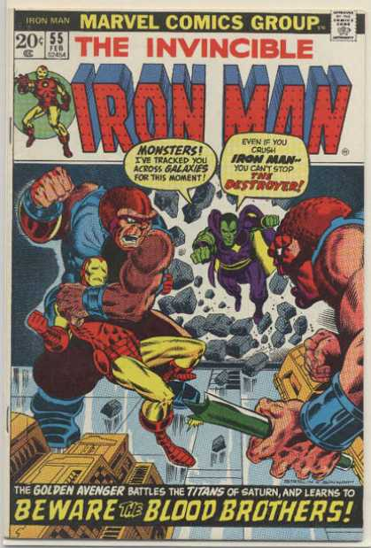 Iron Man 55 - Jim Starlin, Joe Sinnott