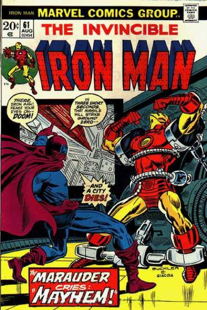 Iron Man 61 - Action - Hero - Metal - Strong - Challenge - Richard Buckler
