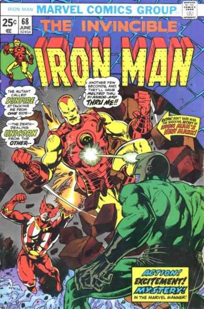 Iron Man 68 - Jim Starlin, Klaus Janson