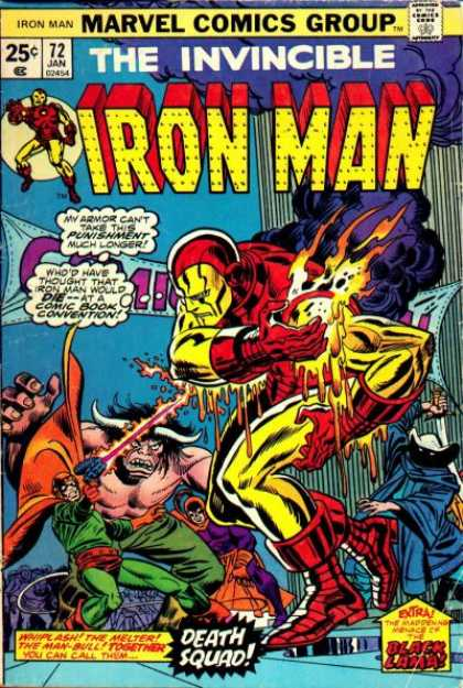 Iron Man 72 - Tony Stark - Whiplash - Comic Convention - Issue 72 - Black Lama