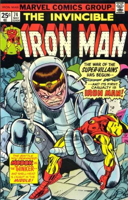 Iron Man 74 - Modok - The Thinker - Shell-head - Machine - Marvel Comics