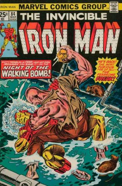 Iron Man 84 - Invincible - Marvel - Walking Bomb - Fearsome Freak - Rat