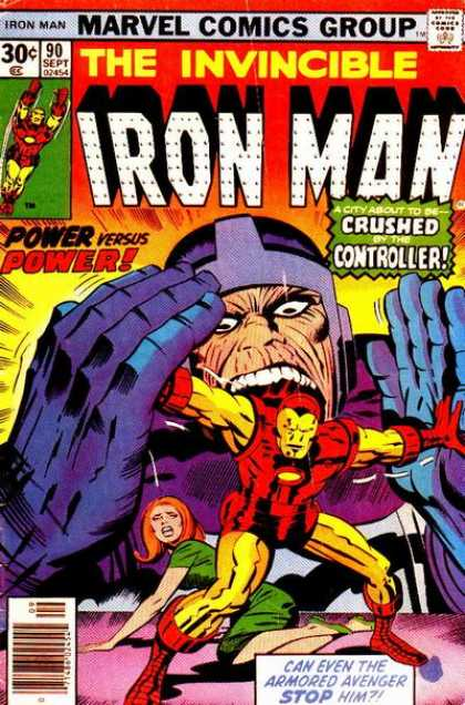 Iron Man 90 - Power - Crushed - Controller - City - Avenger - Jack Kirby