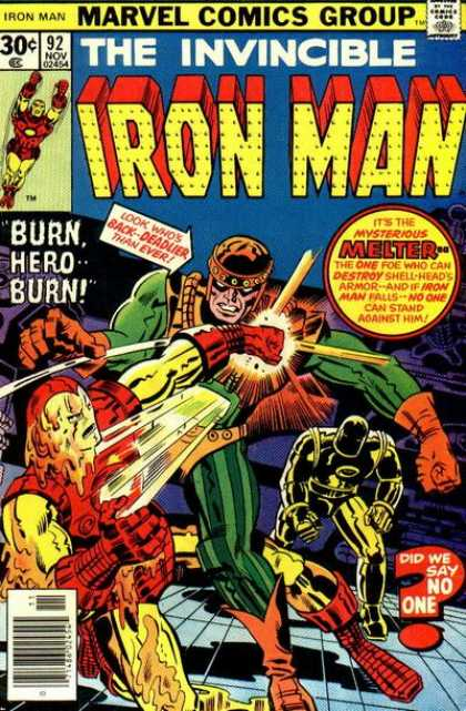 Iron Man 92 - Jack Kirby