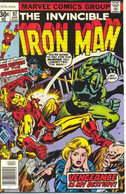 Iron Man 97 - Green Monster - Murder - Punch - Flight - Tin Man