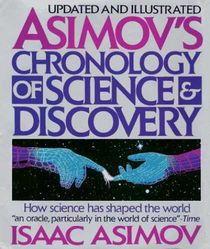 Isaac Asimov Books - Asimov's Chronology of Science & Discovery: Updated and Illustrated