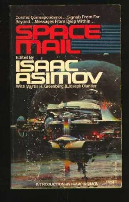 Isaac Asimov Books - Space Mail