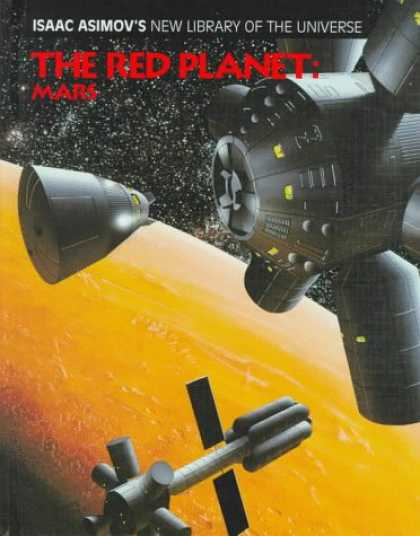 Isaac Asimov Books - The Red Planet: Mars (Isaac Asimov's New Library of the Universe)